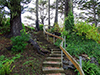 Stairway in Cannon Beach